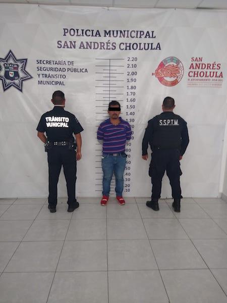 SSPYTM de San Andrés captura a presunto ladrón de vehículo