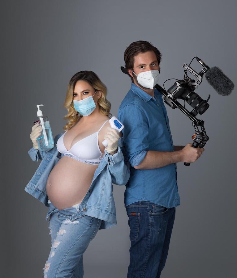 """Actriz méxico-estadounidense Selina Ringel protagoniza el filme """"39 semanas"""", rodado durante el Covid-19"""