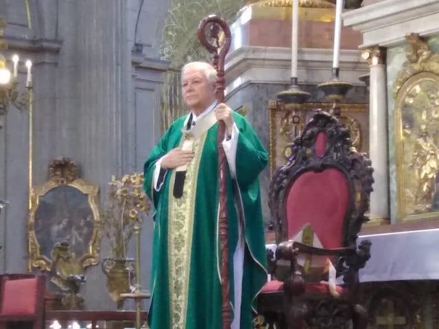 Reitera Arzobispo de Puebla el llamado a la población a que se quede en casa