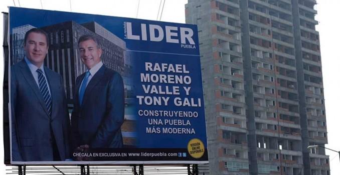Aprueba el Congreso de Puebla la eliminación de propaganda político-electoral en espectaculares
