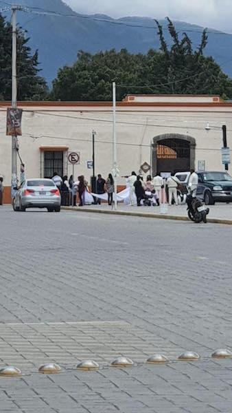 En plena pandemia se lleva a cabo un bodorrio hasta con mariachis en Amozoc