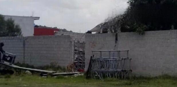 En plena pandemia reportan un fiestón de XV Años en San Jerónimo Ocotitlán en el municipio de Acajete