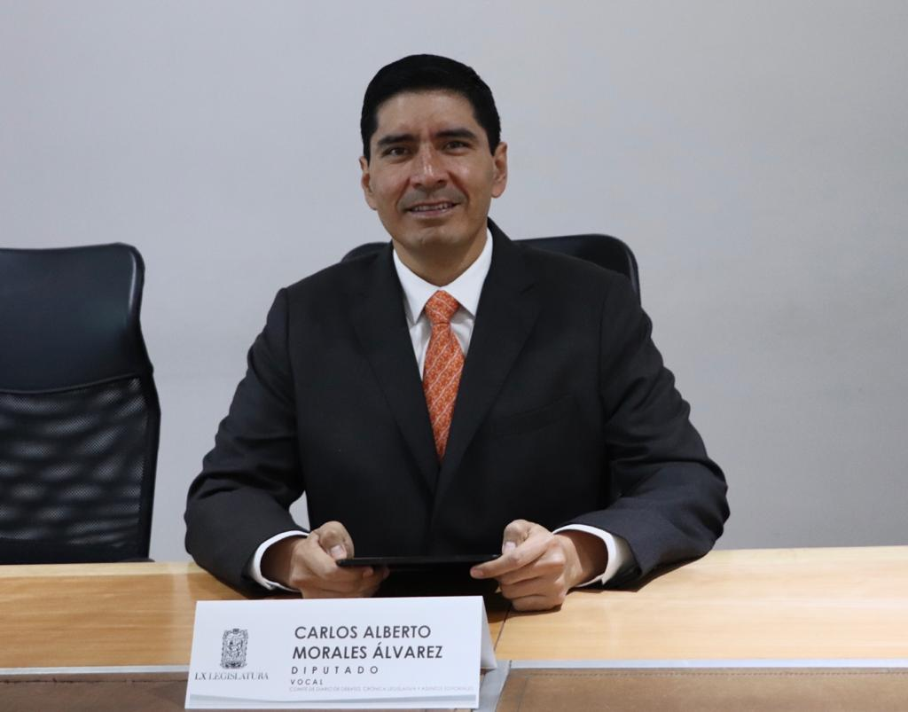 Exhorta Morales Álvarez a Raciel López a que se apoye a policías estatales en sus demandas