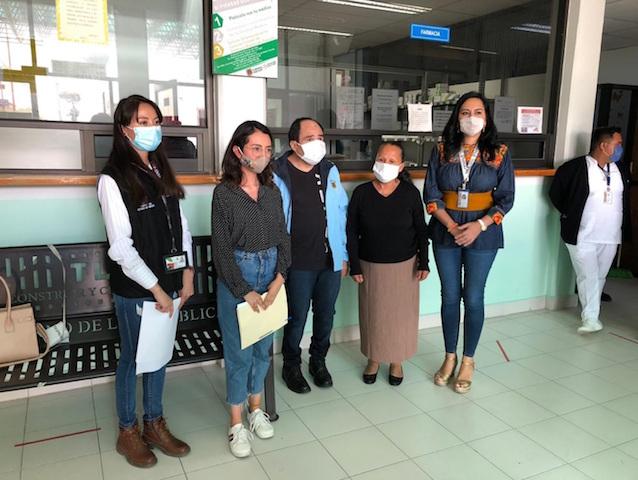 Logra SESA reencuentro de paciente hospitalizado con su familia