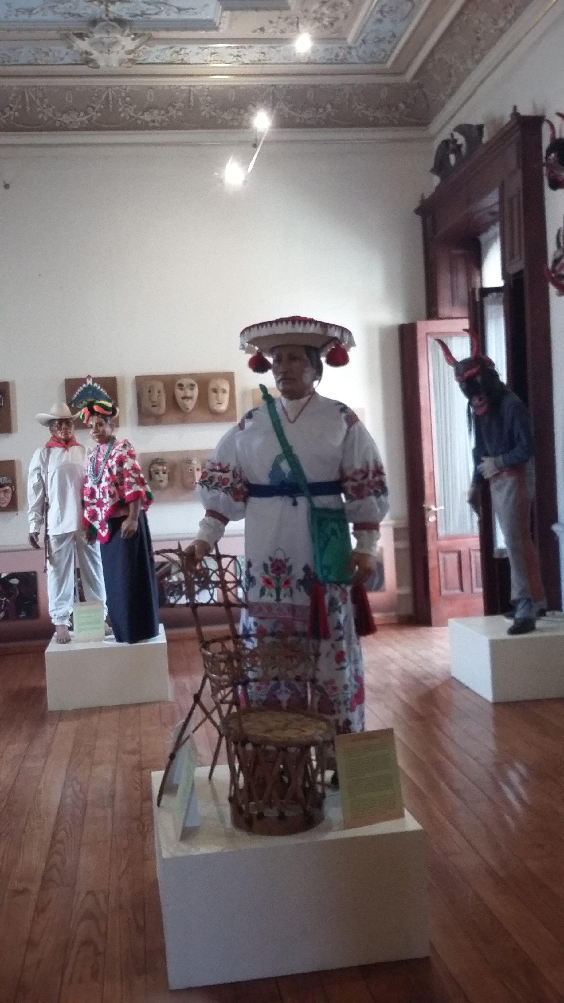Salas del Museo Nacional de la Máscara