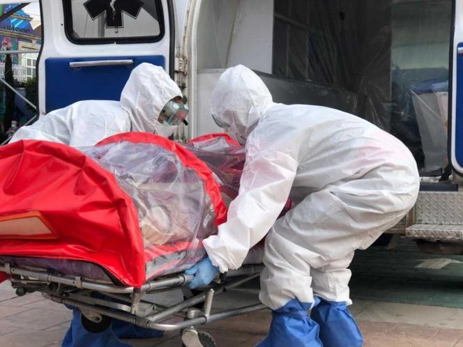 Enfermo de covid escapa de hospital y muere en minutos