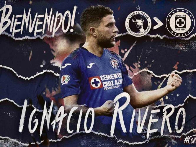 Cruz Azul hace oficial la llegada de Ignacio Rivero