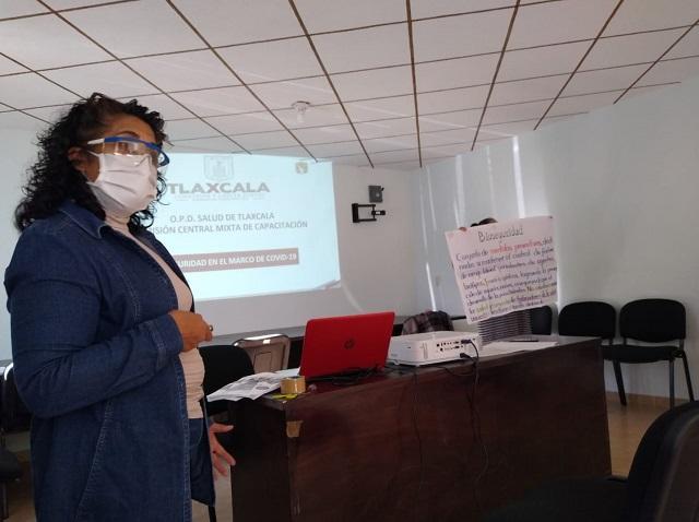 Capacita SESA a regidores de salud y médicos de la jurisdicción II de Huamantla