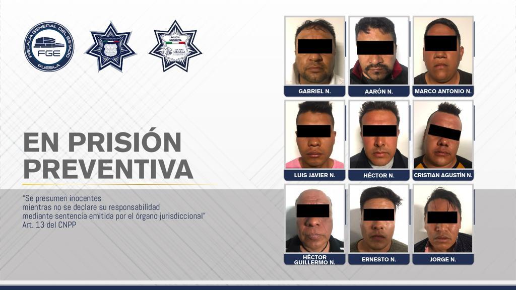Fiscalía de Puebla y policías municipales desarticularon banda de robo a tienda departamental