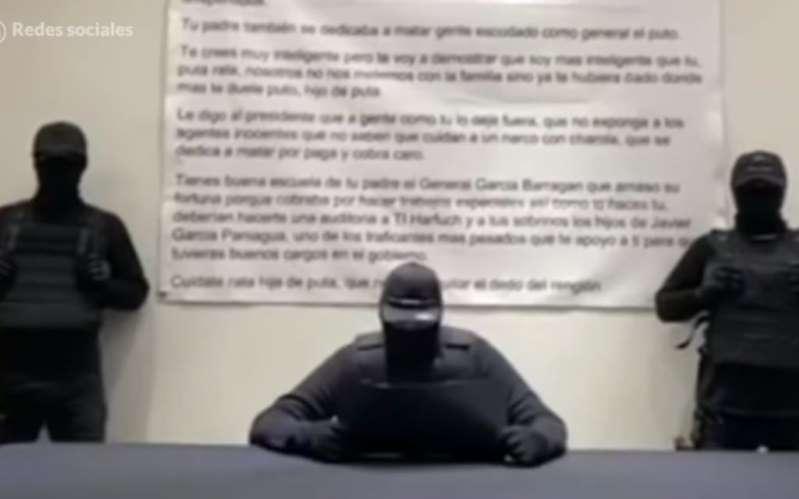 Amenazan nuevamente a Omar García Harfuch | Video