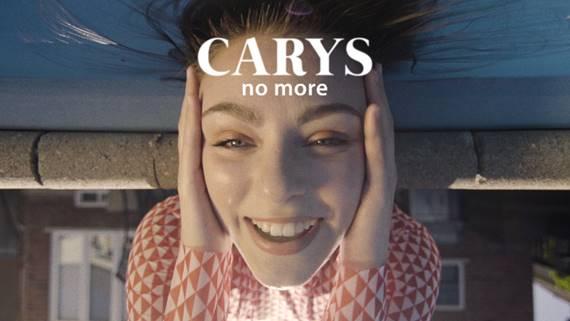 """""""No More"""" es el nuevo sencillo promocional de Carys"""