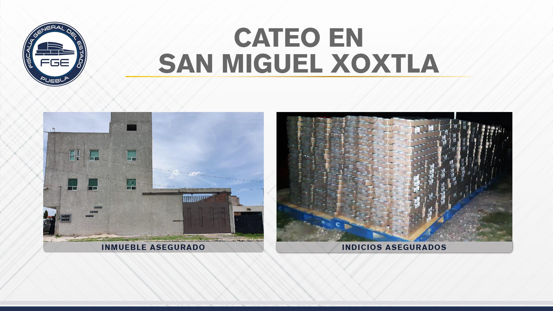 Fiscalía Puebla recuperó más de 90 mil latas de atún robadas