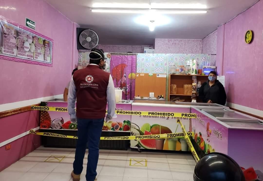 Canaco reporta pérdidas económicas por 10 mdp y cierre de 500 negocios a causa de COVID-19 en San Andrés Cholula