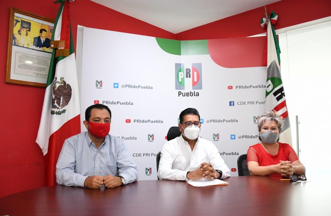 Nombra PRI dirigencia provisional en el CDE de Puebla