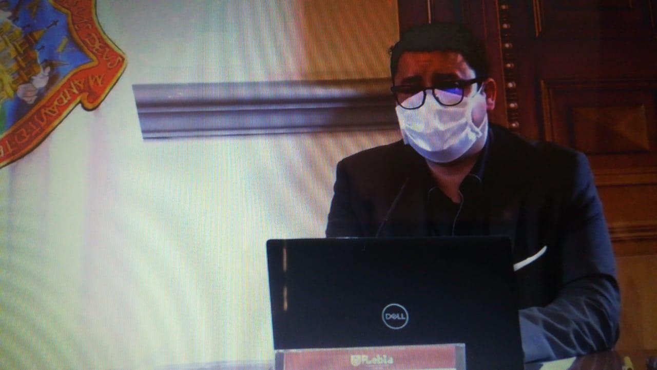Video desde Puebla: Pandemia no detuvo la obra pública en Puebla capital, aseguró Román Romano