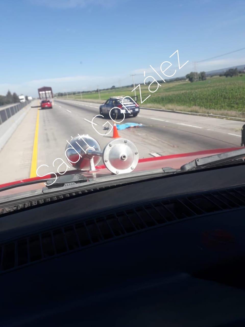 Hombre muere atropellado al intentar cruzar la Puebla-Orizaba antes de la caseta en Amozoc