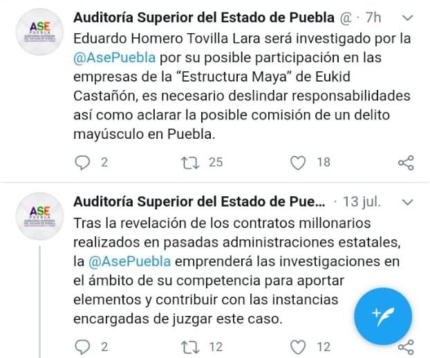Investigará la Auditoría Superior del Estado a Tovilla Lara ex secretario de finanzas de Martha Erika Alonso
