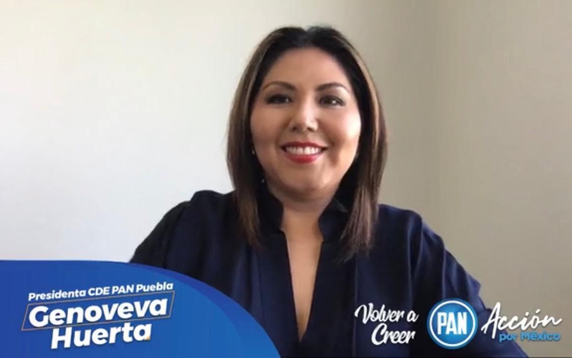 """Oculta gobierno realidad de Puebla con """"filtraciones dolosas"""": Genoveva Huerta"""