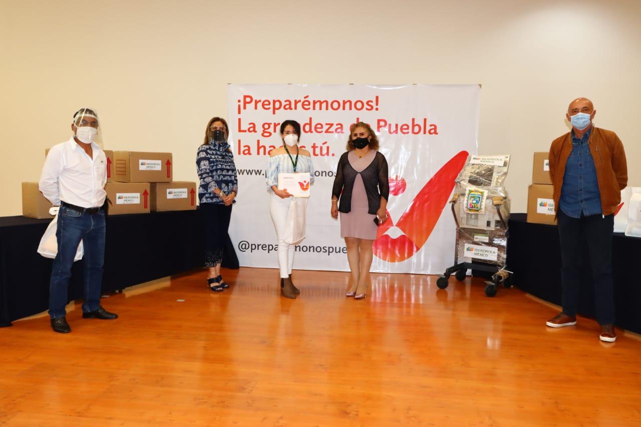 Preparémonos suma tercer donativo de Iberdrola