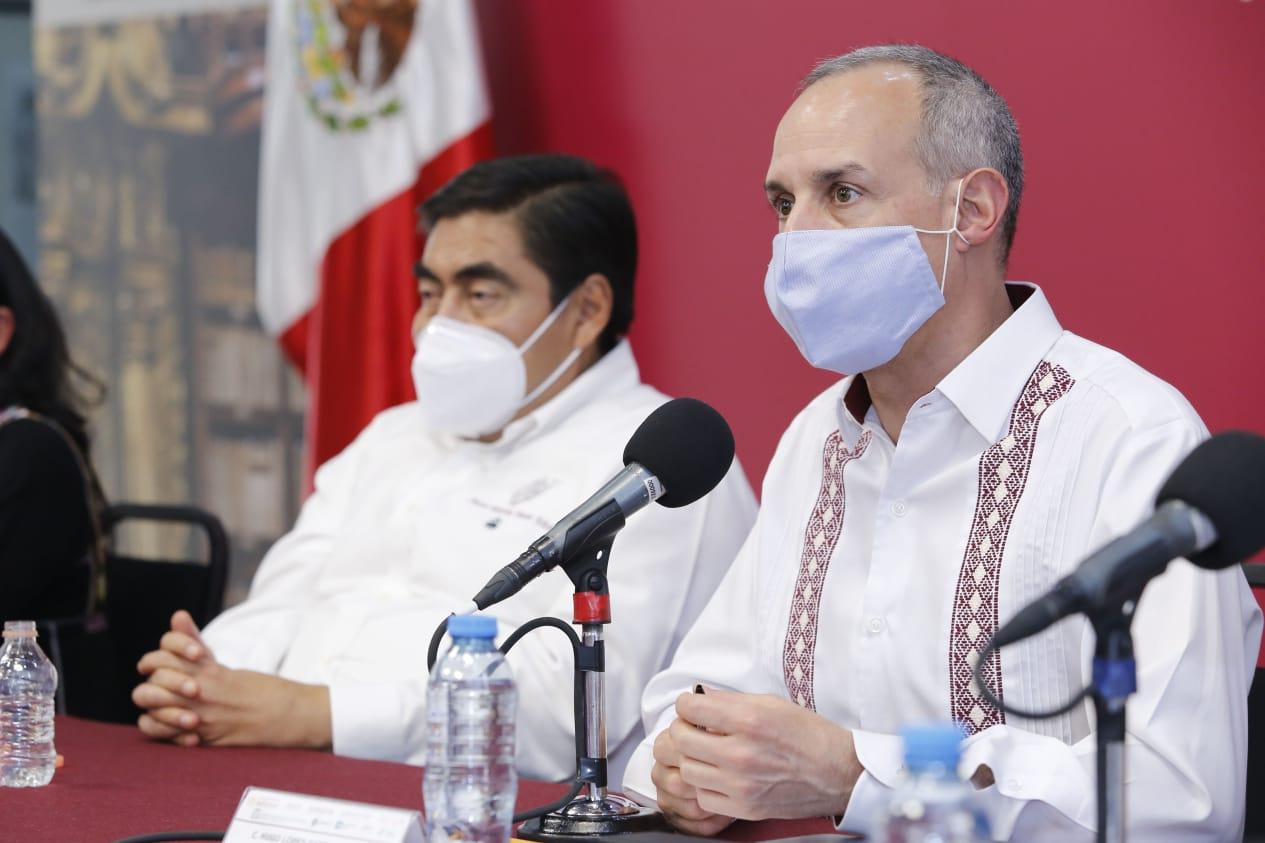 Video desde Puebla: Políticas federales y decretos estatales dan rumbo al estado para enfrentar la pandemia, subrayó el gobernador Barbosa