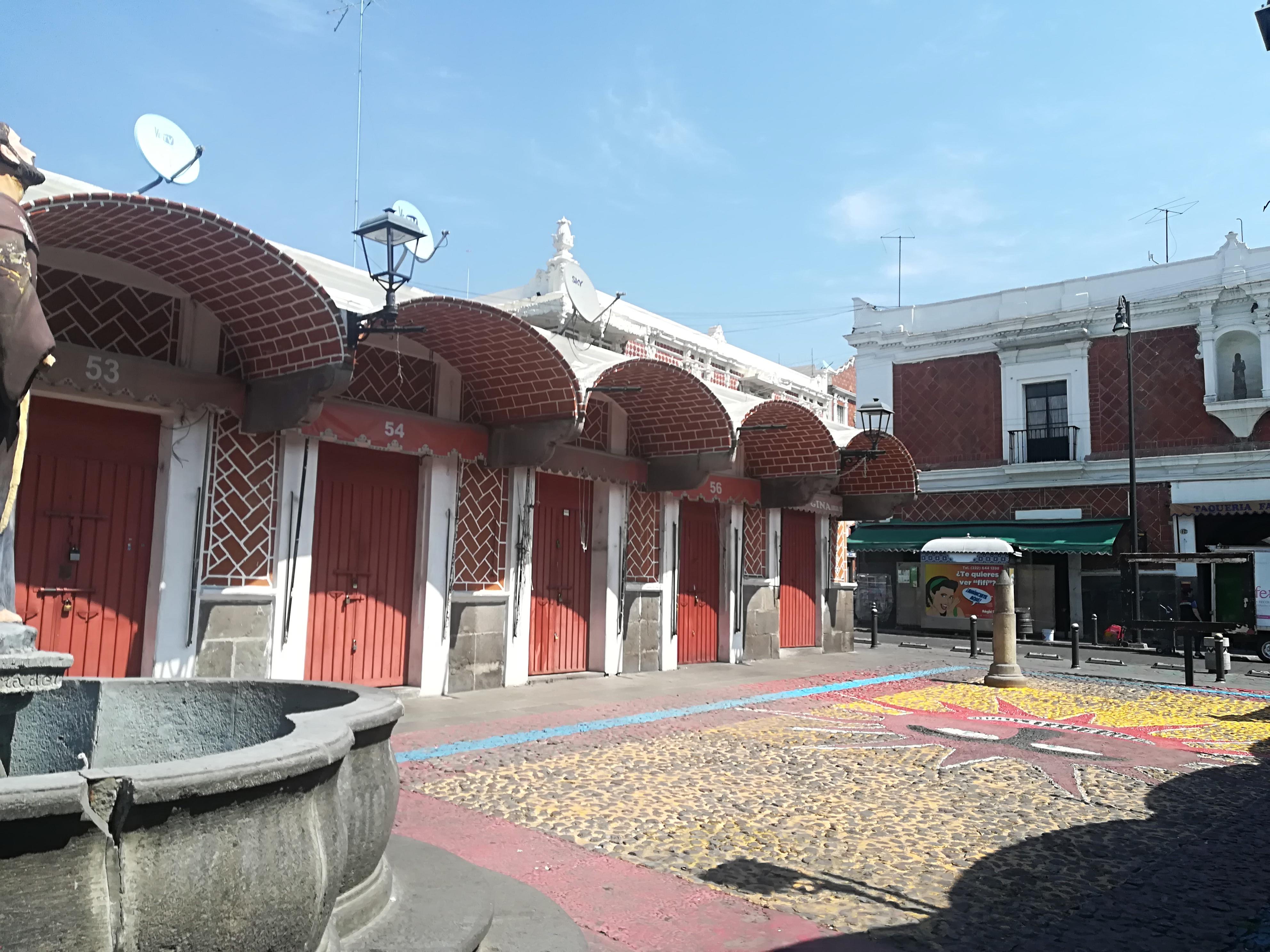 Locatarios de El Parián también solicitan reabrir el 6 de julio