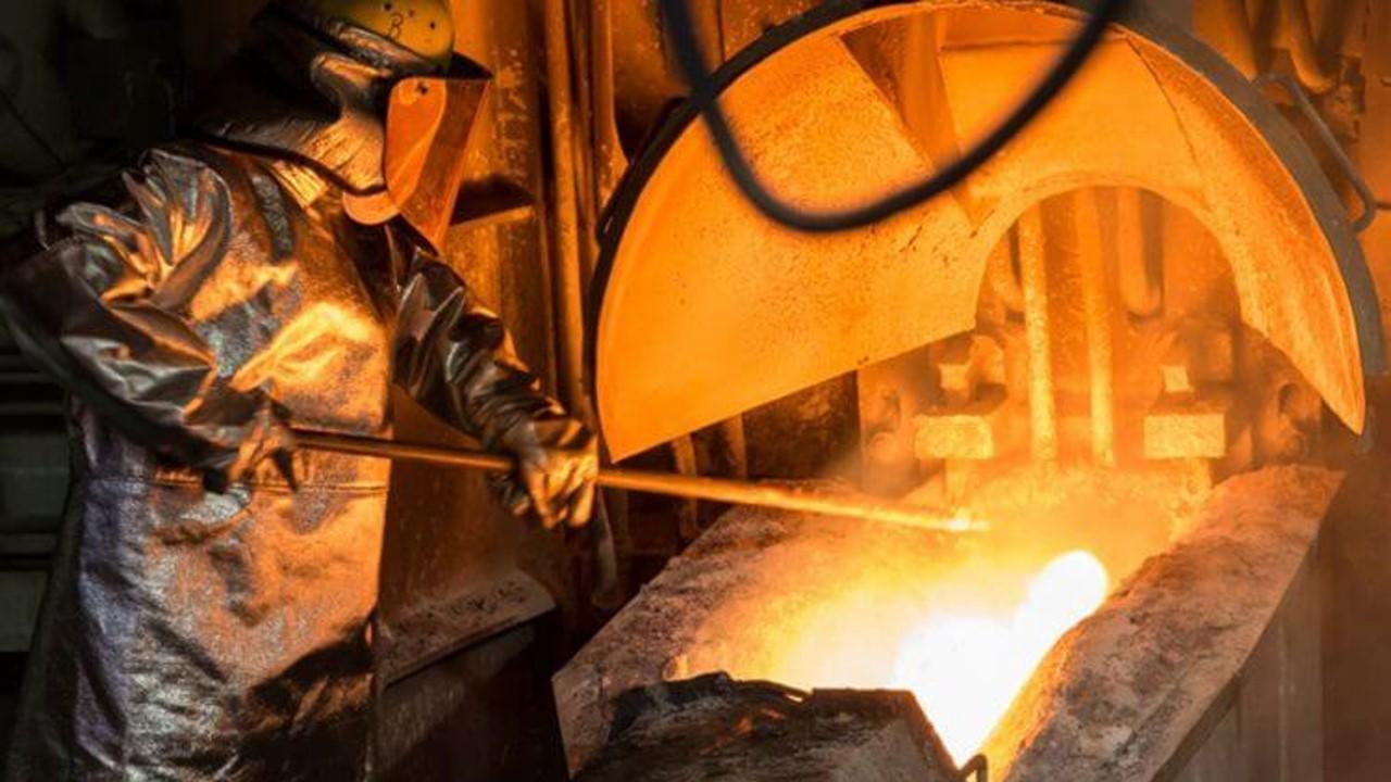 El índice de volumen físico de la Producción Minerometalúrgica del país aumentó 9.6%
