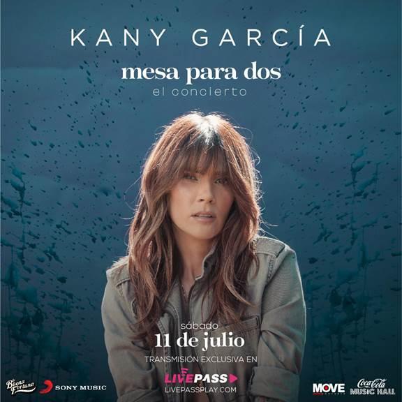 Este sábado 11 de julio Kany García transmitirá su concierto virtual desde el Coca Cola Music Hall en Puerto Rico