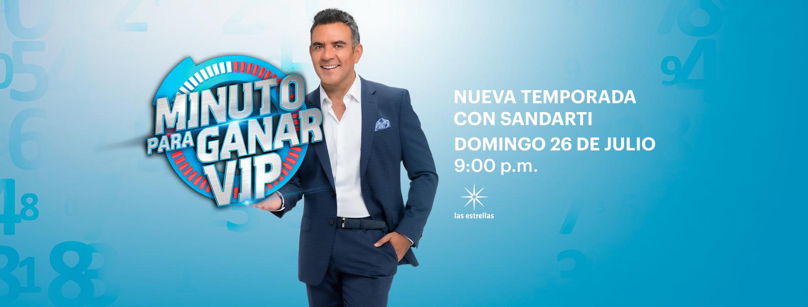 """Este domingo 26 de junio se estrena la nueva temporada de """"Minuto para ganar VIP"""""""