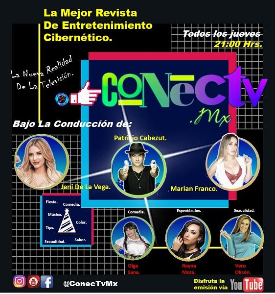 """""""Conectv Mx"""": una novedosa forma de entretenimiento con gran contenido, bajo la batuta de Patricio Cabezut"""