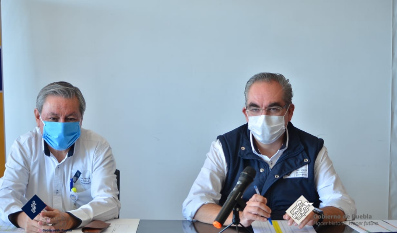 Contagios en Puebla de covid-19 no paran; ayer fueron 199 más: Secretaría de Salud.