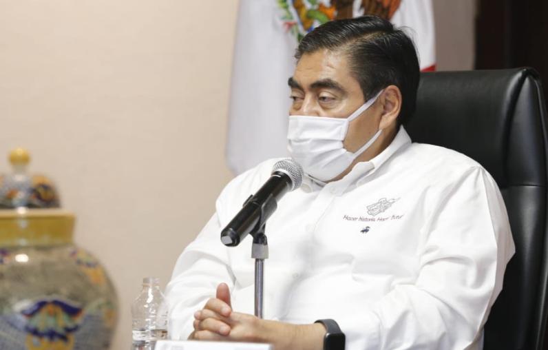 Gobierno de Puebla estima para finales de julio definir la fecha de apertura de los negocios en el estado: Miguel Barbosa