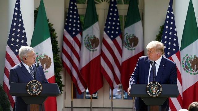 América del Norte debe recuperar su importancia en el contexto mundial, señaló AMLO ante Trump