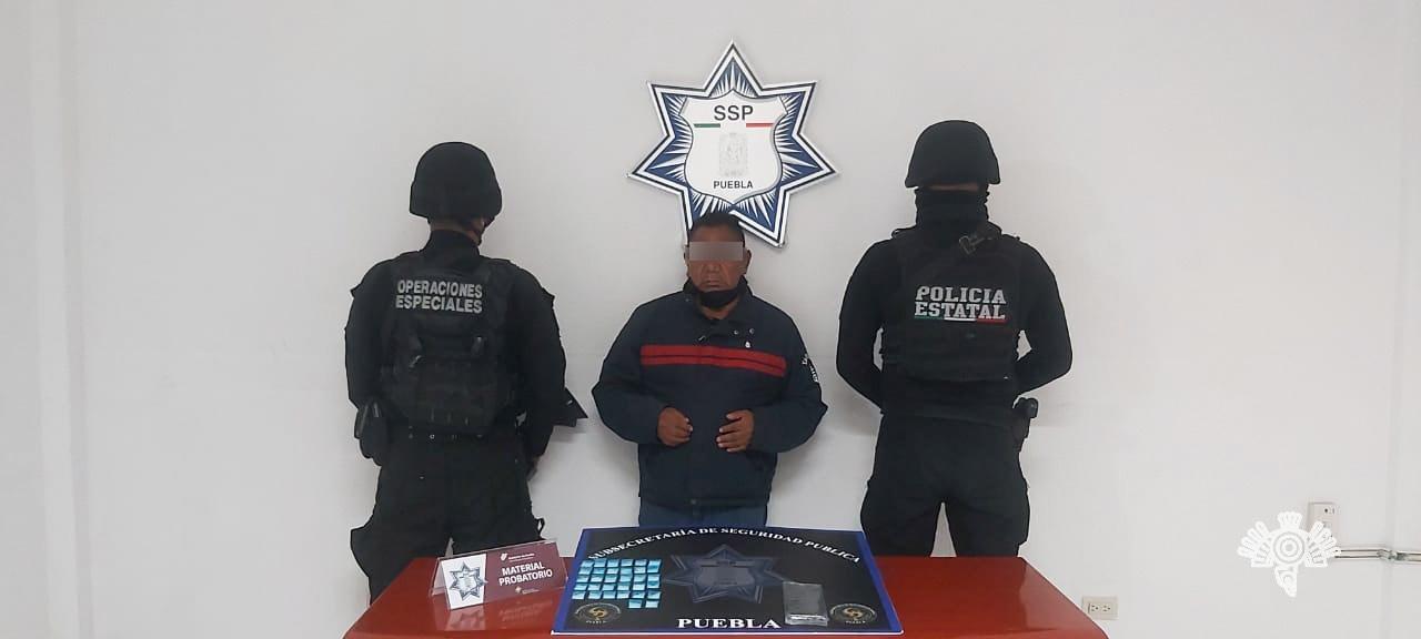 """Detiene Policía Estatal a """"El Margaro"""", acusado de vender licor contaminado"""