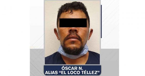 """Óscar N. alias """"El Loco Téllez"""" fue vinculado a proceso y permanecerá en prisión"""