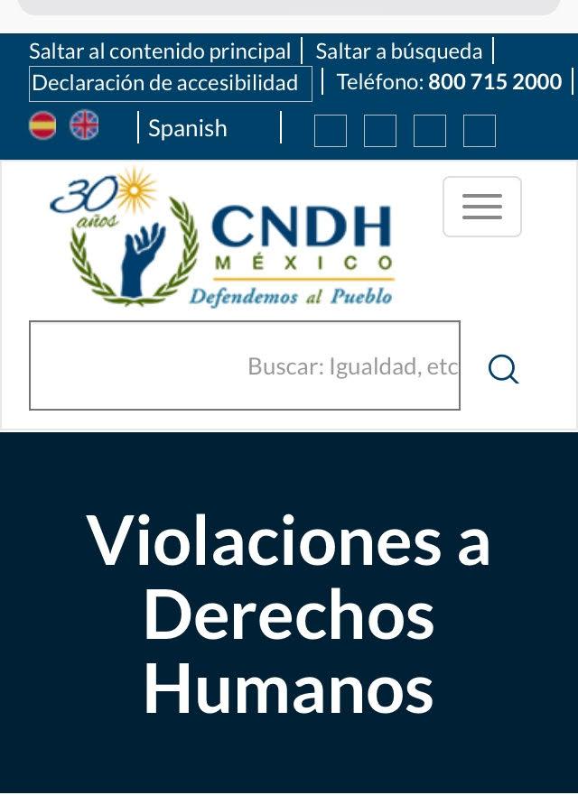 Entre enero y mayo, 64 quejas presentadas por poblanos ante la CNDH