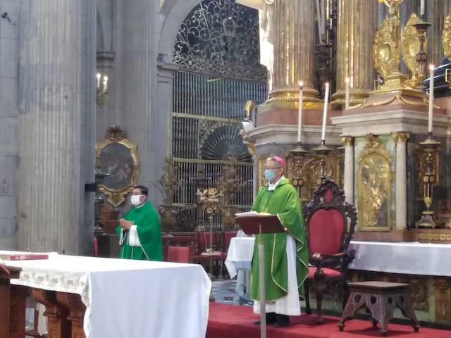 Los católicos deben salir fortalecidos ante la pandemia: Obispo auxiliar de Puebla