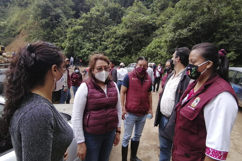 Apoya SEDIF a familias de la Sierra Norte afectadas por lluvias