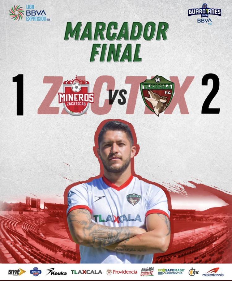 Desde Tlaxcala: Marco Mena felicita a Coyotes por su primer triunfo en la liga de Expansión