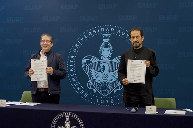 BUAP, primera universidad en firmar convenio con el Sistema Público de Radiodifusión