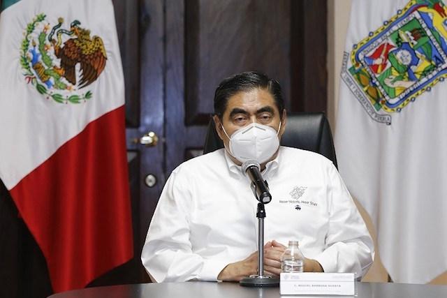 Volveremos a clases presenciales hasta que el semáforo esté en verde o se tenga la vacuna, afirma el gobernador Luis Miguel Barbosa Huerta