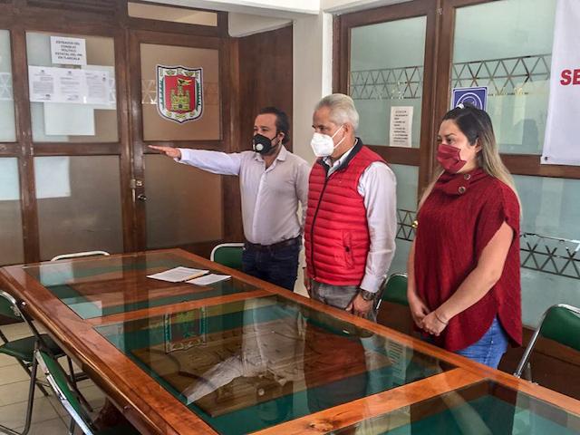 Alejandro Hernández Selley, nuevo dirigente del instituto Jesús Reyes Heroles en Tlaxcala