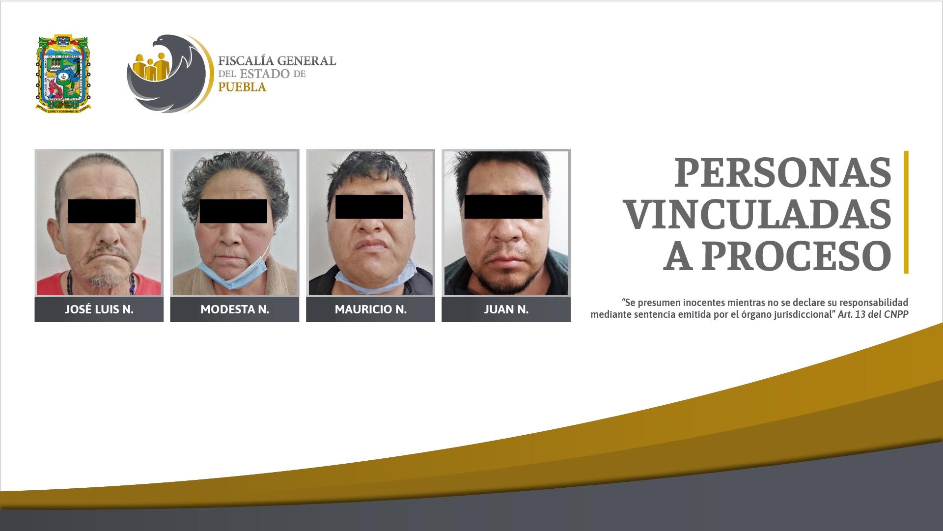 Fiscalía Puebla detuvo a 4 personas y aseguró más de 100 dosis de droga