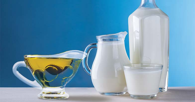 Los aceites vegetales y los productos lácteos lideran el aumento de los precios de los alimentos en julio
