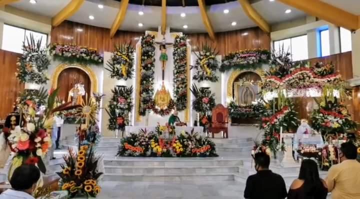 ¡El colmo!, ayuntamiento de San Pedro Cholula permite fiesta religiosa…en plena pandemia
