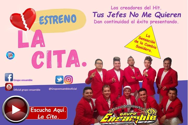 """La Cita"": nuevo sencillo del Grupo Ensamble"