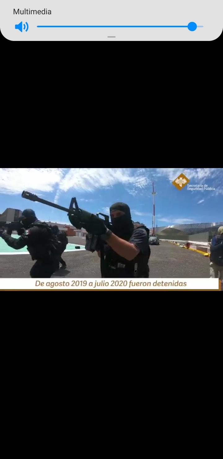 Video desde Puebla: Secretaría de Seguridad Pública ha atrapado a más de 2 mil 500 delincuentes en el 1er año de gobierno