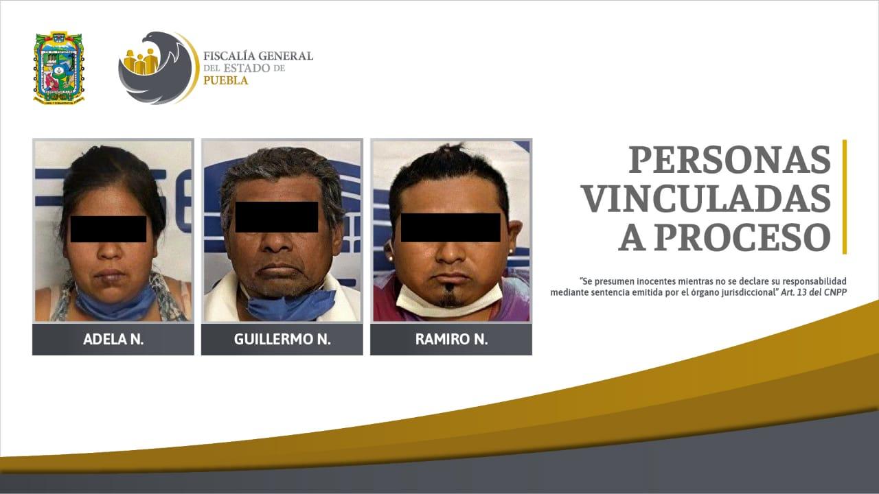 A prisión, 3 personas que primero quisieron sobornar a agentes de la Fiscalía y después intentaron acuchillarlos