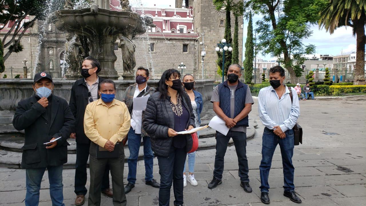 Artistas poblanos piden apoyo a los gobiernos del estado y municipio de Puebla