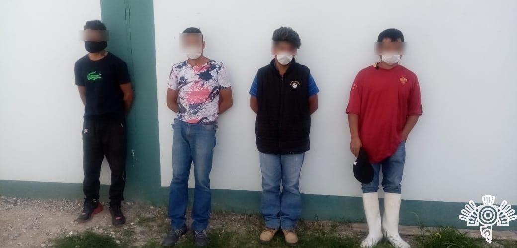Policía estatal detiene a 6 tras operativo en Tepeaca