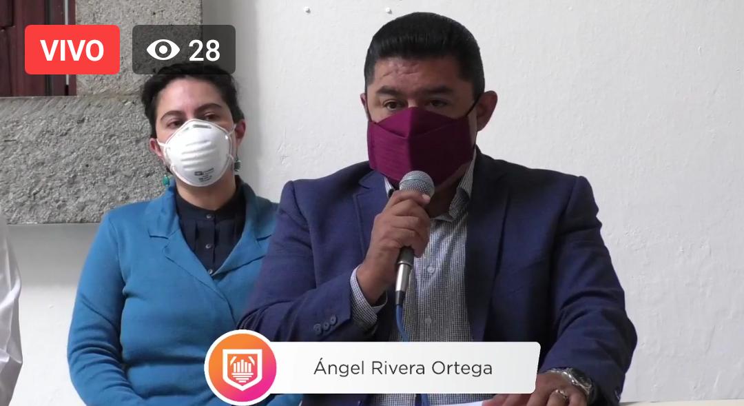 Video desde Puebla: Ayuntamiento de la capital esperará indicaciones del estado para el Grito de Independencia, señaló el regidor Ángel Rivera